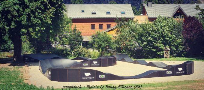 Pumptrack Bourg d'Oisans