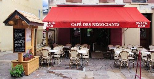 Café des Négociants Bourg d'Oisans