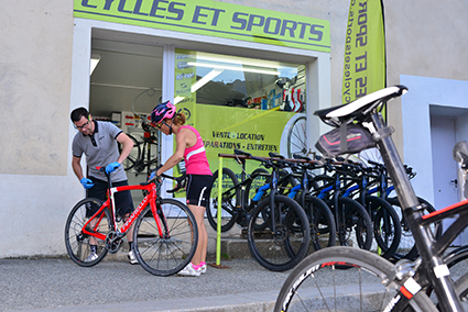 Huez Bike Hire Bourg d'Oisans