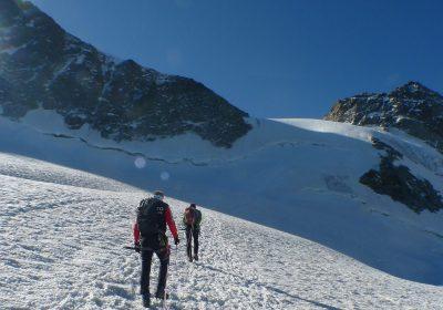Randonnée glaciaire