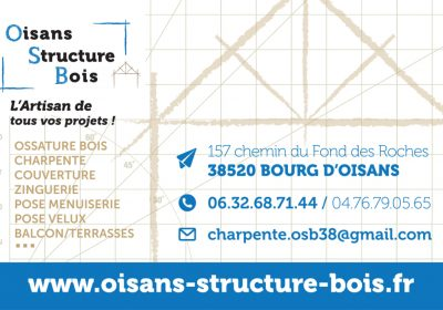 Oisans structure bois