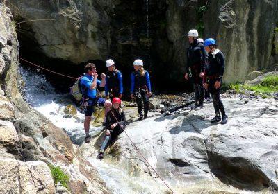 Canyoning avec le Bureau des Guides