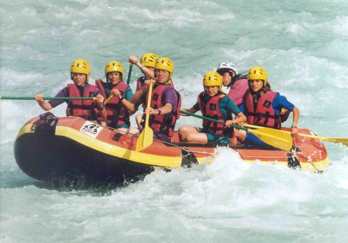 rafting avec vénéon eaux vives