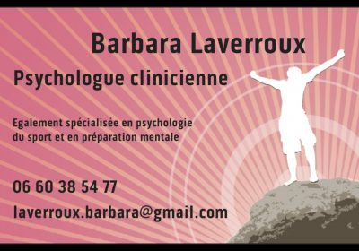 LAVERROUX Barbara – Psychologue