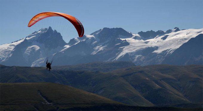 Parapente à l'Alpe d'Huez