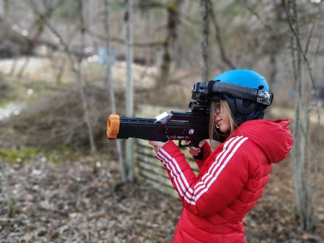 Laser game en forêt