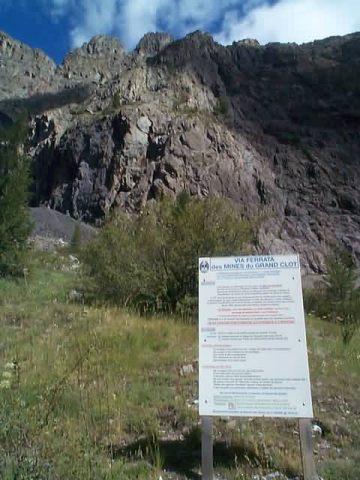 Via ferrata des Mines du Grand Clôt
